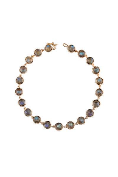 Irene Neuwirth - Rose Gold Labradorite Bracelet