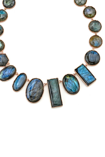 Irene Neuwirth - Gold One-Of-A-Kind Mixed Labradorite Necklace