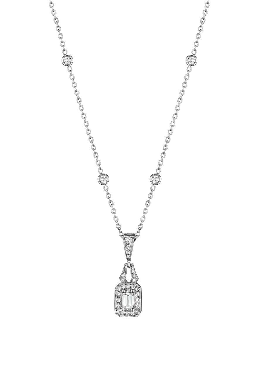 White Gold Pave Diamond Deco Enhancer