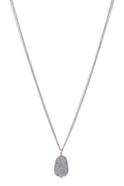 Dana Kellin - Silver Diamond Necklace