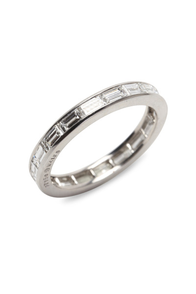 Oscar Heyman - Diamond End-To-End Guard Ring