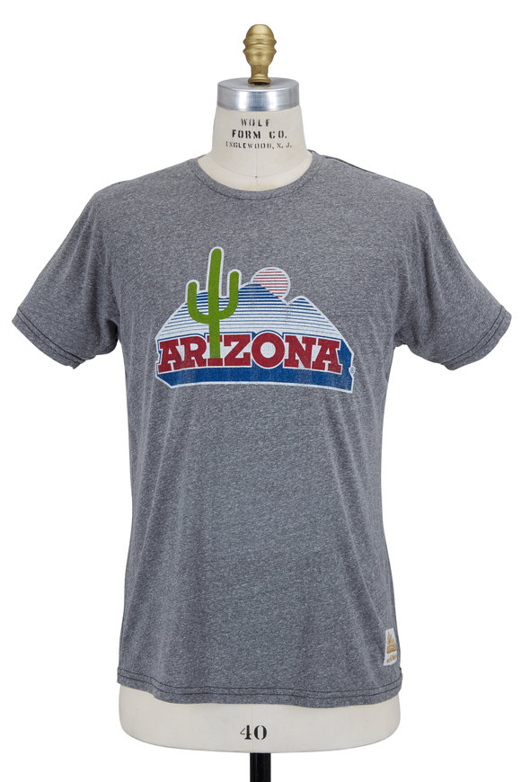 Retro Brand Gray University of Arizona T-Shirt