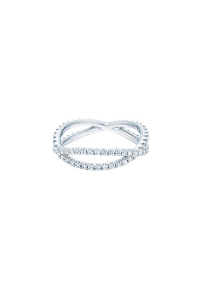 Kwiat - 18K White Gold Diamond Fidelity Band