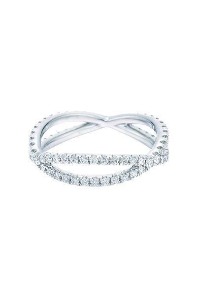 Kwiat - 18K White Gold Diamond Fidelity Band