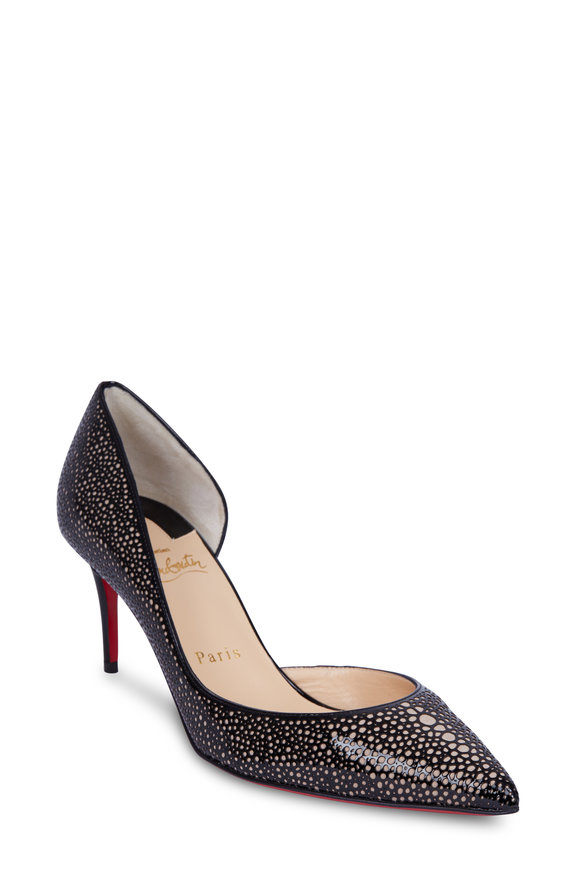 christian louboutin pipina suede 55mm wedge pump
