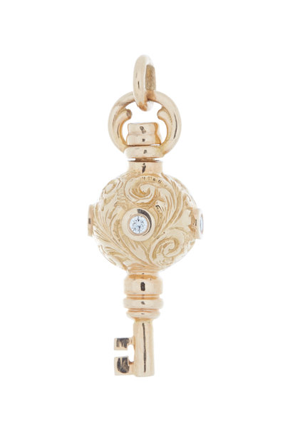 Monica Rich Kosann - 18K Rose Gold Key Charm