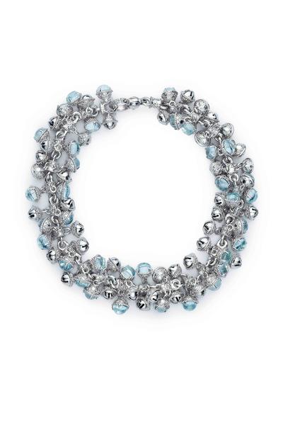 Paul Morelli - Meditation Bells Sterling Silver Stone Bracelet
