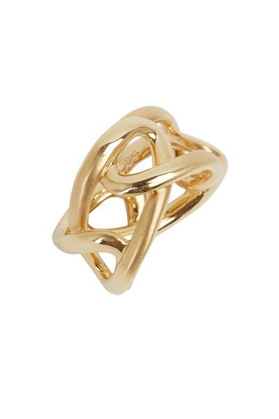 Assael - Angela Cummings Yellow Gold Sculpted Ring