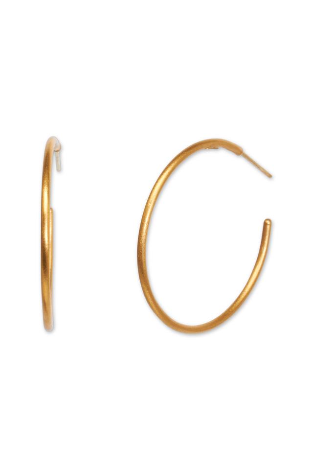 Jane Gold Hoop Earrings