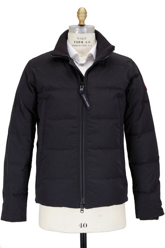 Canada Goose Woolford Black Puffer Jacket