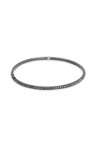 Yossi Harari - Pavé-Set Cognac Diamond Bangle