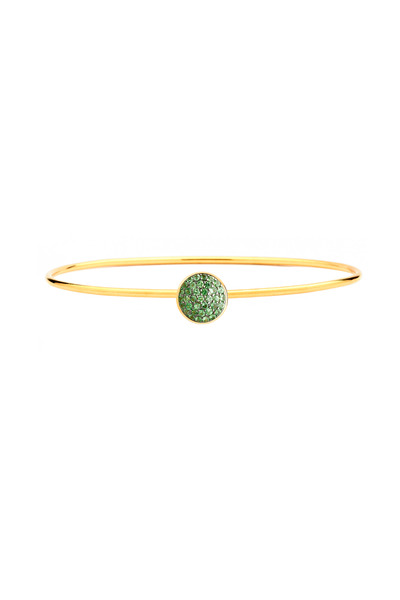 Syna - Baubles Gold Tsavorite Stack Chakra Bracelet