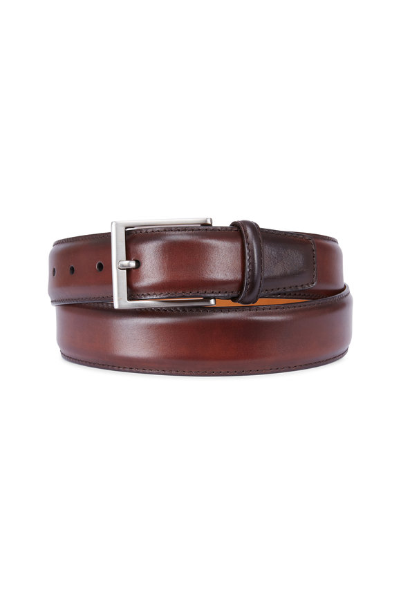 Magnanni Catania Brown Leather Belt
