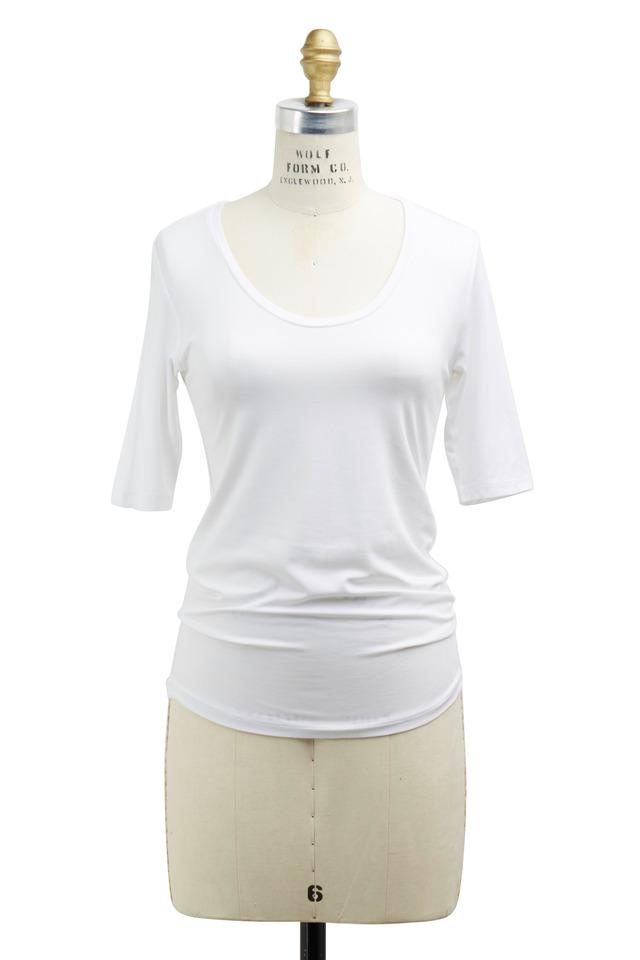 White Viscose Top