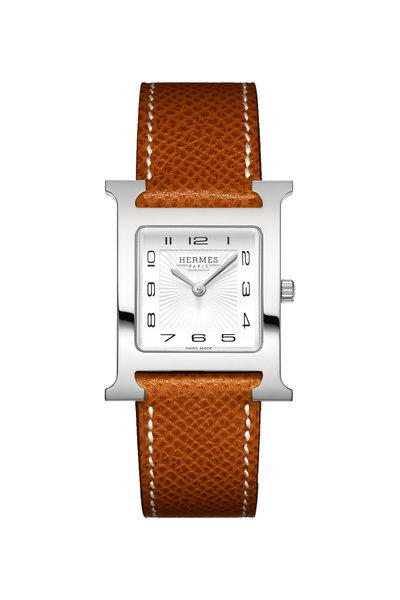 Hermès - Heure H MM Steel Watch