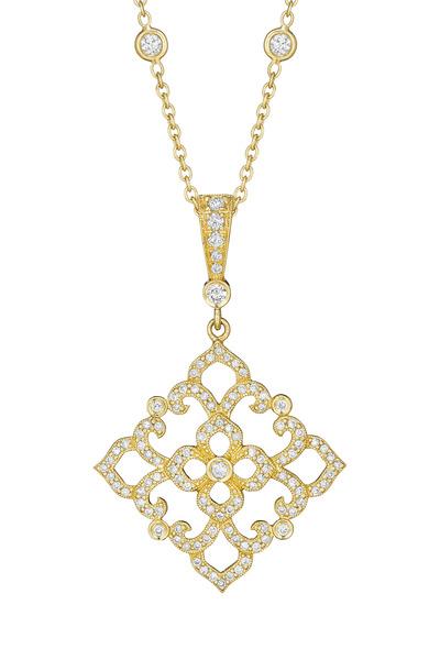 Penny Preville - Gold Lace Diamond Bale Enhancer