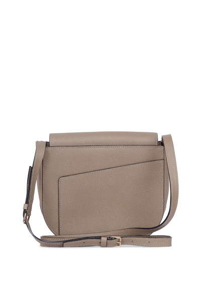 af14176603 Valextra - Twist 5 Oyster Grained Leather Crossbody