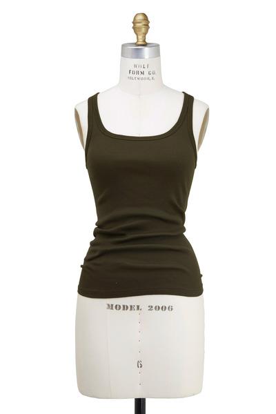 Ralph Lauren - Olive Green Cotton Tank Top