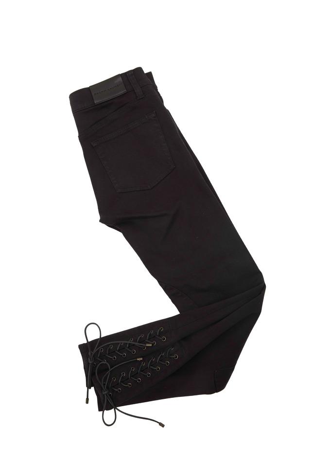 400 Black Denim Skinny Jodhpur