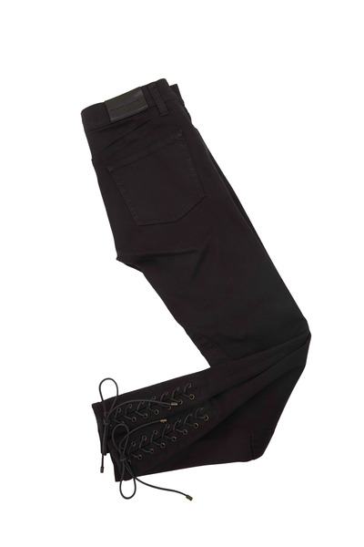 Ralph Lauren - 400 Black Denim Skinny Jodhpur