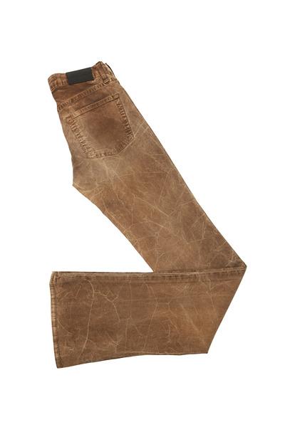 Ralph Lauren - 109 Brown Denim Slim Boot Cut Pants
