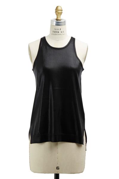 Ralph Lauren - Black Silk Tank Top