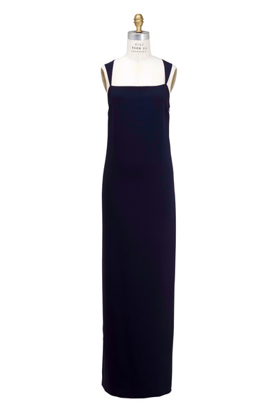 The Row - Tiglie Blueberry Cady Gown