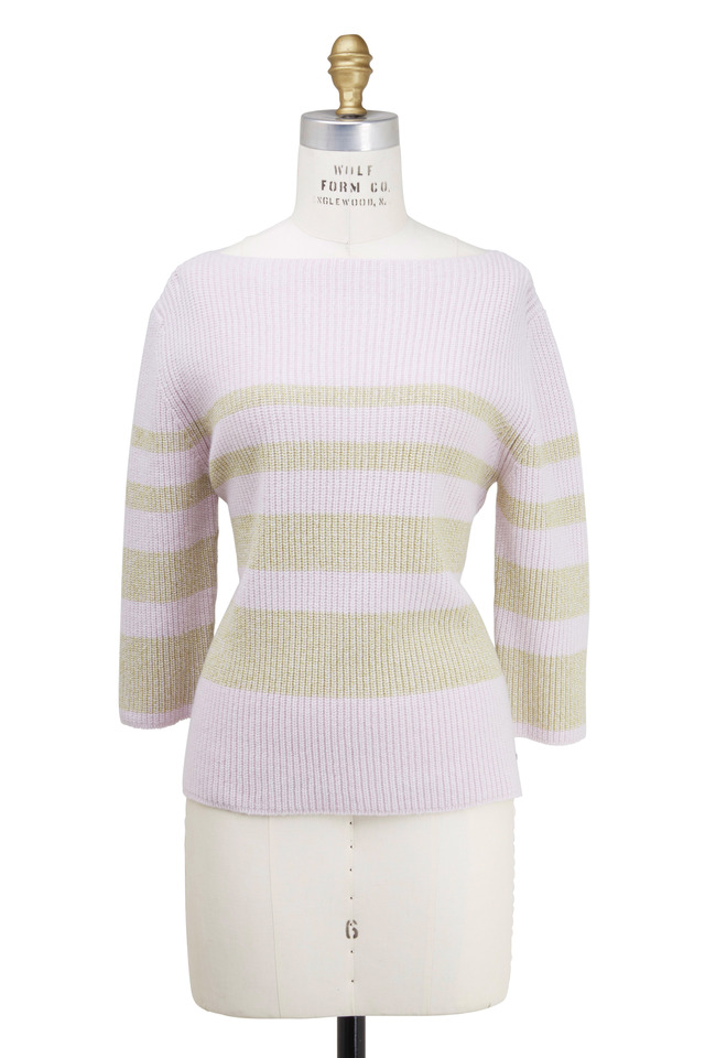 Liara Light Pink Wool Sweater