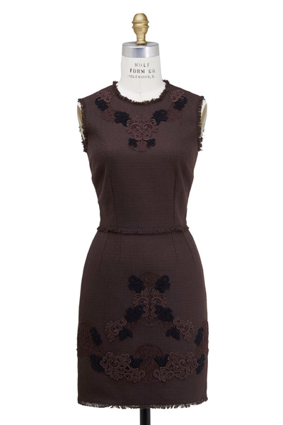 Dolce & Gabbana - Brown Macrame Dress
