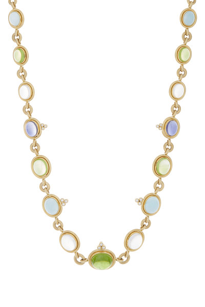 Temple St. Clair - multi colored stone necklace