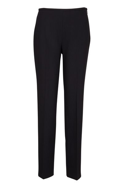 Michael Kors Collection - Black Crepe Skinny Pants