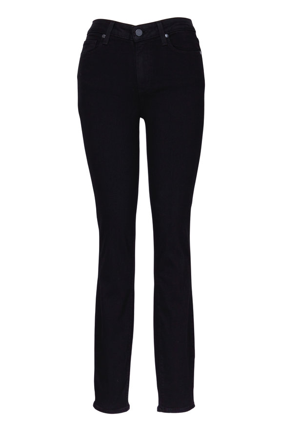 PAIGE Hoxton Black High Rise Ultra Skinny Jean