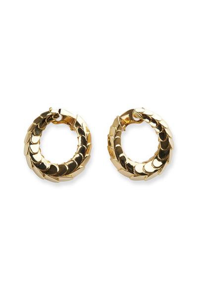 Fred Leighton - Yellow Gold Hoop Earrings