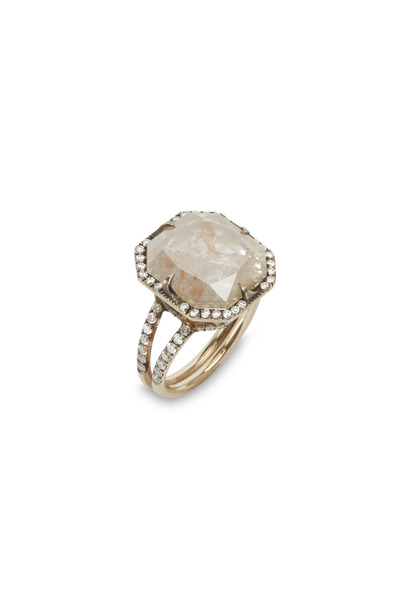 Sylva & Cie - Good Girl Gone Bad White Gold Diamond Ring