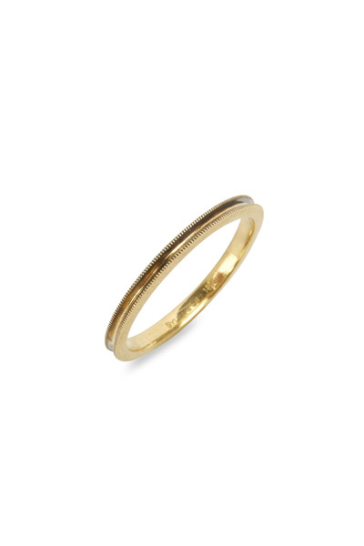 Sylva & Cie - Yellow Gold Stack Band