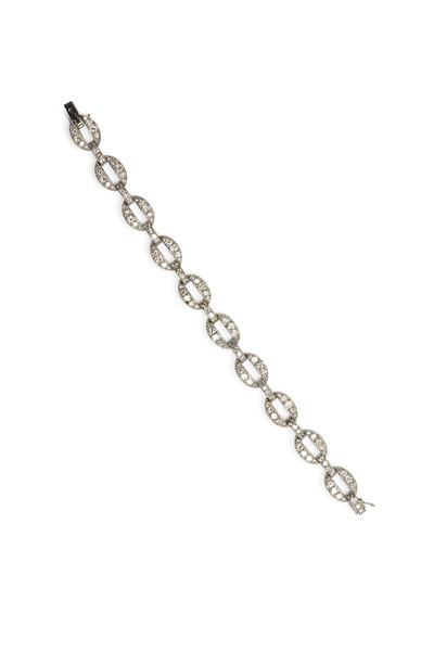 Fred Leighton - Cartier Paris Diamond Link Bracelet