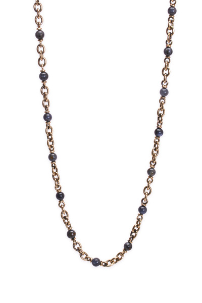 Sylva & Cie - Yellow Gold Kynoite Necklace