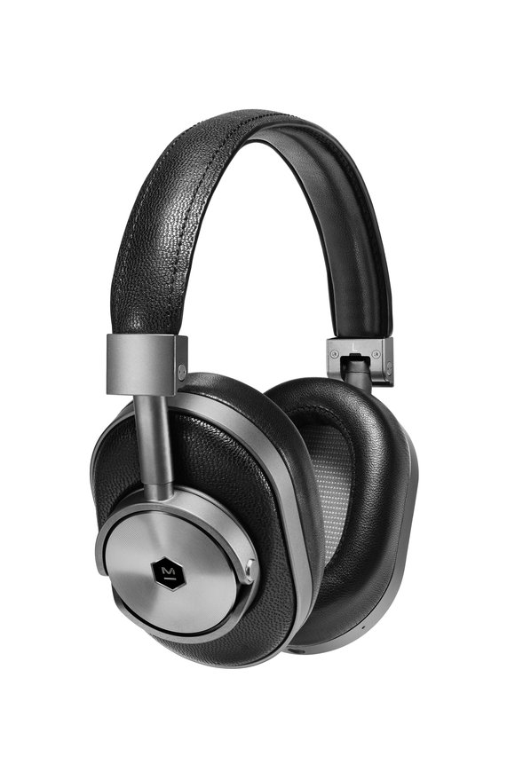 Master & Dynamic MW60 Gunmetal & Leather Wireless Headphones