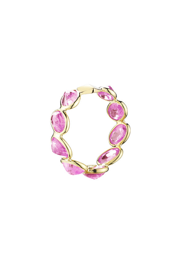 Paolo Costagli 18K Yellow Gold Pink Sapphire Ring