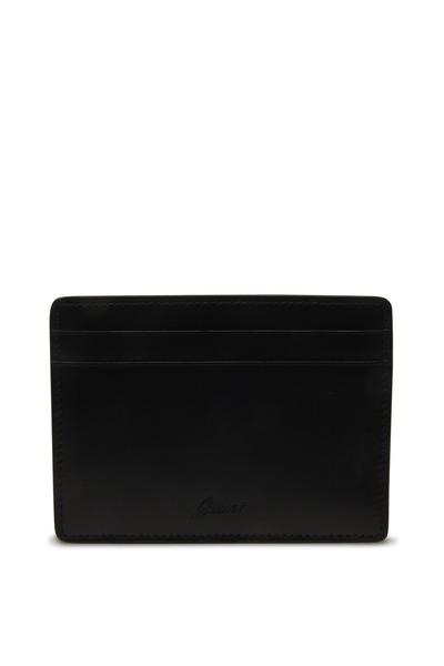 Brioni - Black Card Holder