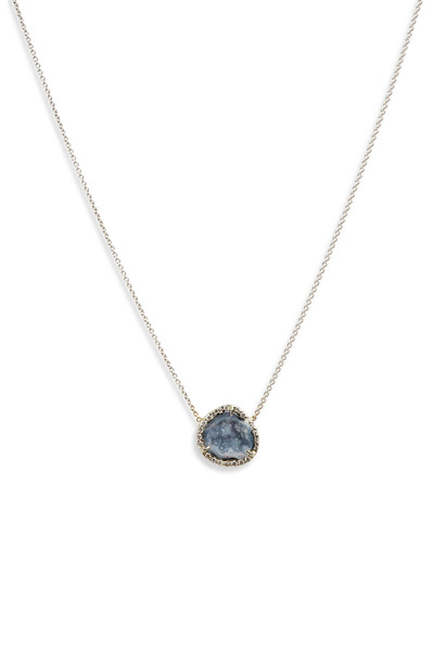 Kimberly McDonald - White Gold Mini Geode Diamond Pendant