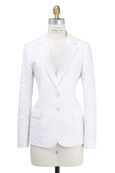 Etro - White Cotton Jacket