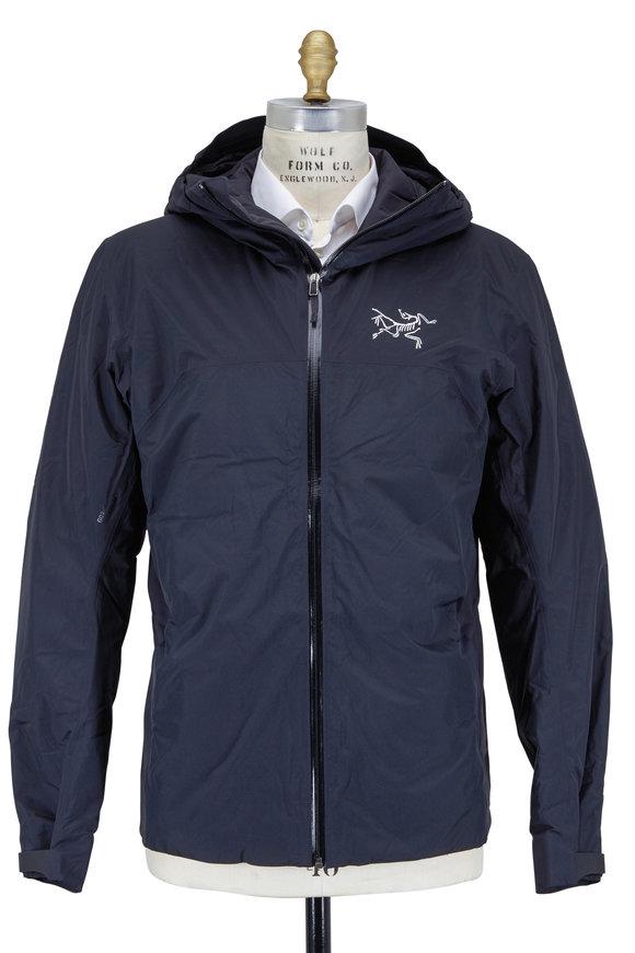 Arc'teryx Rethel Black Nylon Hooded Storm Jacket