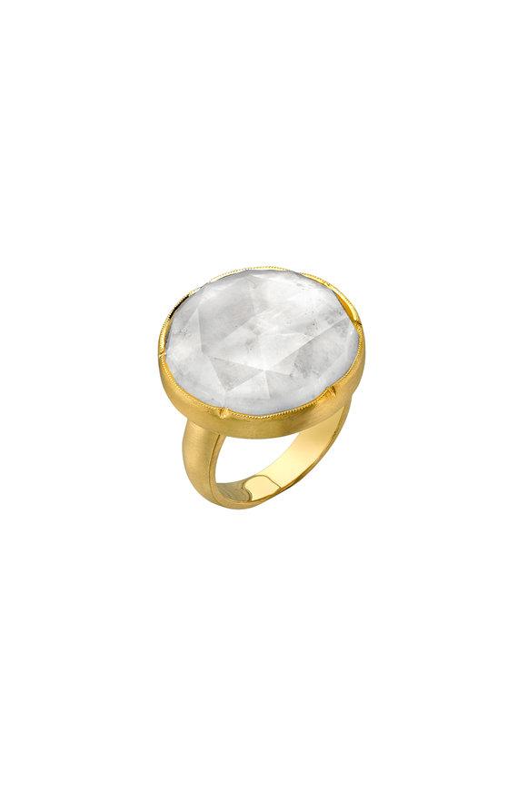 Irene Neuwirth 18K Yellow Gold Moonstone Ring