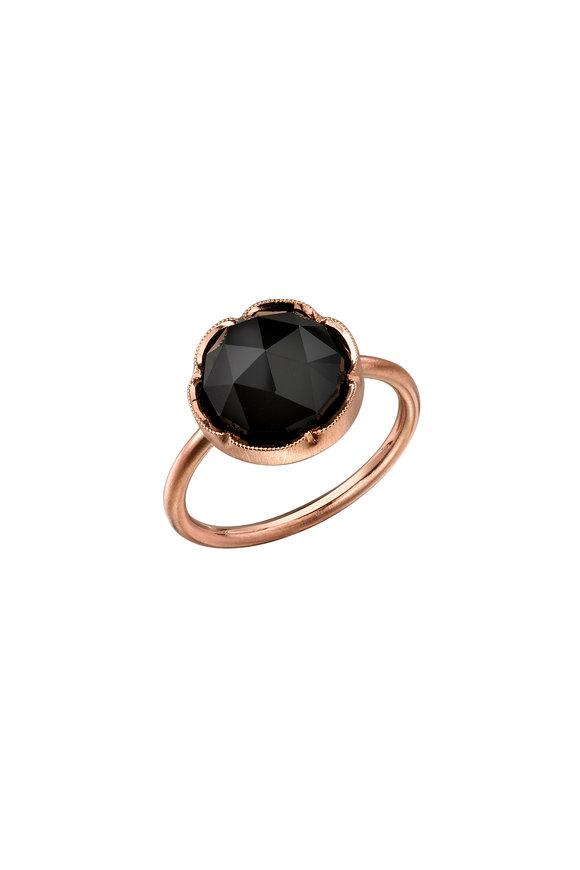 Irene Neuwirth 18K Rose Gold Black Onyx Ring