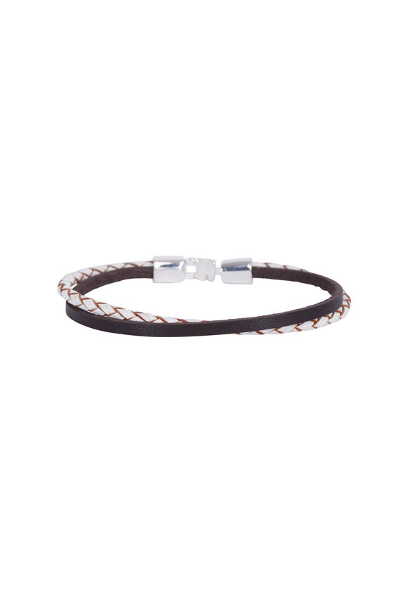 Catherine M. Zadeh Valerio Double Wrap Leather Bracelet