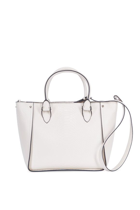 Alexander McQueen Inside Out Oyster Leather Large Shopper
