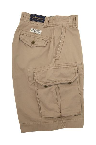 Polo Ralph Lauren - Gellar Khaki Cotton Cargo Shorts