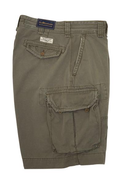 Polo Ralph Lauren - Gellar Olive Green Cotton Cargo Shorts
