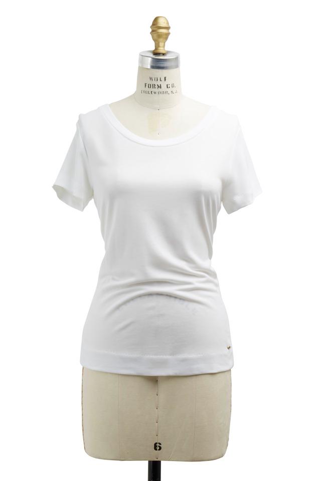Eimear White Jersey T-Shirt